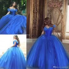 cinderella quinceanera dress dramatic cinderella quinceanera gown dresses 2017 royal blue