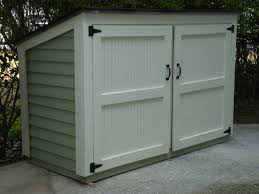 Small Backyard Shed Ideas Garden Shed For Trash And Mower Outdoor Trash Shed Wood Shed