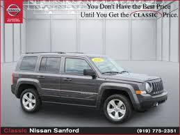 price of a jeep patriot used 2016 jeep patriot for sale wilkesboro nc