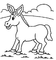 printable gymnastics coloring pages coloring pages animals free donkey coloring pages donkey