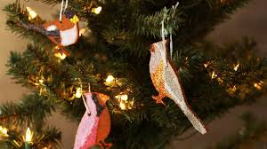 cinnamon bird christmas ornaments martha stewart youtube