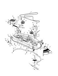 husqvarna lawn mower deck parts mower deck diagram and parts list