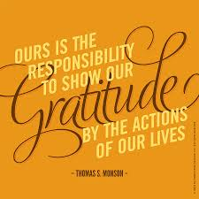 jesus quotes gratitude ours is the responsibility to show gratitude by the actions of our