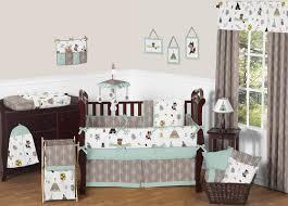 Nursery Bedding Sets For Boys Bed Infant Crib Sets Grey Baby Crib Bedding Baby Boy Bumper Sets