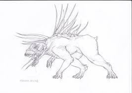 predator hound sketch by schytelizard94 on deviantart