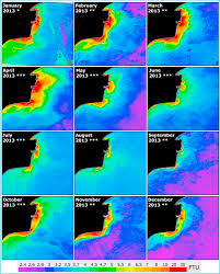 estimation of water turbidity and analysis of its spatio temporal