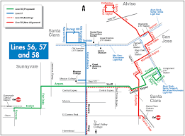 Bart Berryessa Extension Map by Vta Proposing Two Year Plan With Overall Increase In Service