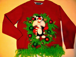 diy handmade ugly christmas sweater ideas crafty morning