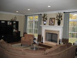 Divide Large Living Room Fireplace Between Two Windows Google Search Kitchen
