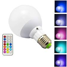 Color Led Light Bulbs 10w 800lm E27 Rgb Led Light Bulb 12 Color Warm White Dimmable Lamp