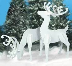 Christmas Yard Decorations Reindeer by Outdoor Reindeer Decorations U2039 Decor Love
