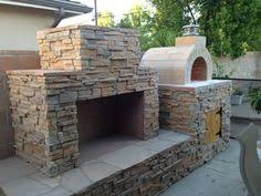 Pizza Oven Outdoor Fireplace by Outside Fireplace With Pizza Oven Patio Pinterest Oven