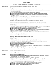 sle resume cost accounting managerial approaches to implementing client implementation resume sles velvet jobs