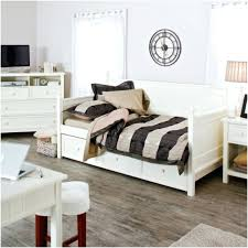 White Daybed With Pop Up Trundle Daybed Pop Up Trundle White Wood With Storage Drawers Ethan