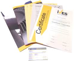 Forklift Operator Certification Card Template Operator Compliance Packages Ives Training Group
