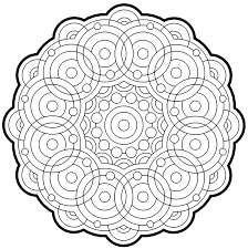 fractal coloring pages bestofcoloring com