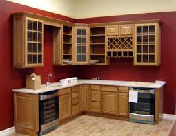 glass door kitchen wall cabinets