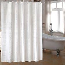 ufaitheart fabric extra wide shower curtain 96 x 72 inches