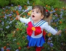 Sailor Moon Halloween Costume Cutest Kids Cosplay Sailor Moon Sailor Cosplay