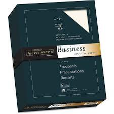 Quality Sheets Southworth Quality Bond 1 Sulphite Paper 20lb 95 Bright Wove