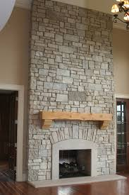 Fireplace Wall Tile by Electric Wall Fireplace Brown Tile Stone Wall Fireplace
