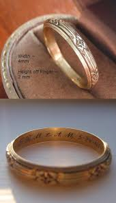 cost of wedding band custom made engraved rings tags wedding ring engraved milgrain