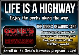 Oklahoma travel rewards images Home gore 39 s travel plaza png