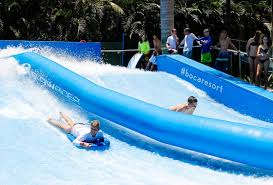 Backyard Flowrider Family Friendly Getaway For Summer The Palm Beaches Florida