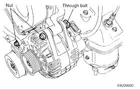 hyundai sonata alternator how do you remove alternator on xg300 2001