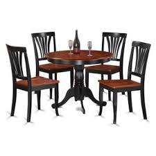 cherry kitchen table set 5 piece round black and cherry kitchen table set free shipping