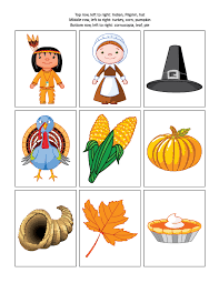 thanksgiving themed letter to initial sound matching activity