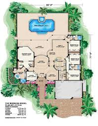 floor plans florida mediterranean house plans florida home design bermuda 9536