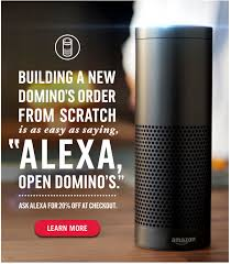 dominos black friday deals 20 off domino u0027s when you order using alexa slickdeals net