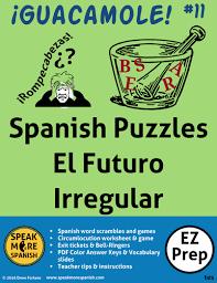spanish puzzles u0026 games present tense reflexive verbs juegos de