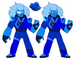 blue opal gemsona steven universe oc fire opal by shinkumancer on deviantart