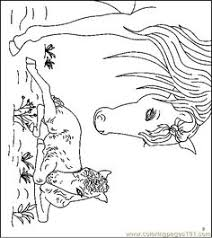 mammals coloring pages lady lovely locks coloring page coloring pages pinterest