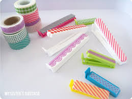 Washi Tape What Is It Washi Tape Week Day 1 Kitchen Organization My Sister U0027s
