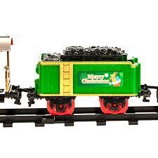 musical christmas train set