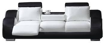 Contemporary Sofa White And Black Contemporary Sofas By - Comtemporary sofas