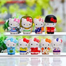 shop 2017 9pc kitty action figure cartoon toys