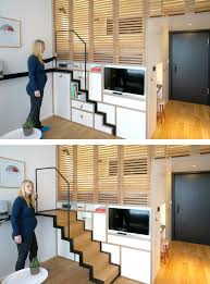 Apartment Stairs Design Zoku Tiny Studio Apartment Building Amsterdam Http Www