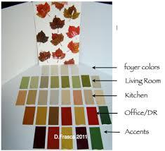 fall color palette color