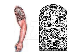 sarmatian shoulder arm tribal by thehoundofulster on deviantart