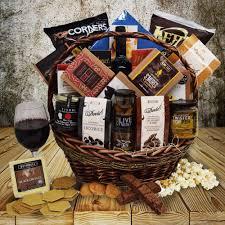 snack gift basket the perugia snack wine gift basket yorkville s usa