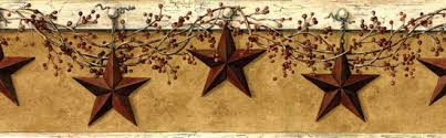 country star home decor country stars berry star wall border kruenpeeper creek country