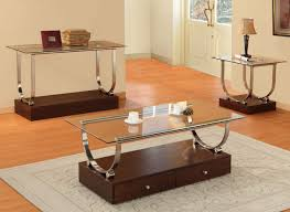 Glass Top Display Coffee Table With Drawers Coffee Table With Storage For A More Organized Living Room