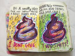 trina artsy fartsy wreck journal