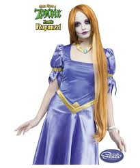 tangled halloween costume once upon a zombie rapunzel wig kids costumes kids halloween