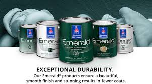 what type of paint finish to use on kitchen cabinets emerald family sherwin williams