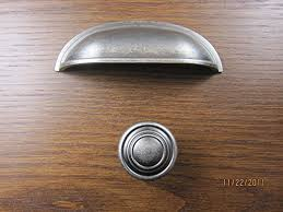 antique pewter cabinet hardware sonoma cabinet hardware montana pull bin cup handle antique pewter 3